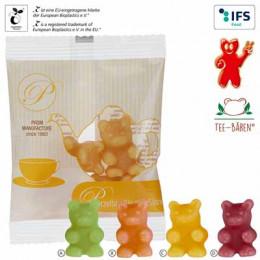 Tee-Bären® in kompostierbarem Tütchen