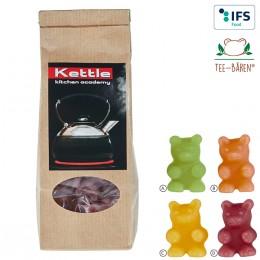 Tee-Bären®  im Papier-Standbeutel
