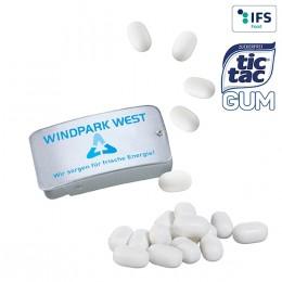 Schiebedeckeldose mit tic tac Gum
