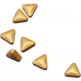 Mini-Klappdose mit Pfefferminzgold- oder Silbernuggets