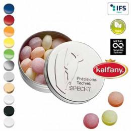 XS-Prägedose mit XS-Kalfany-Fruchtbonbons