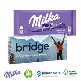 Schokolade von Milka, 100 g, Klimaneutral, FSC®