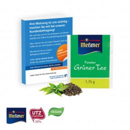 Premium-Tee in der Werbe-Klappkarte