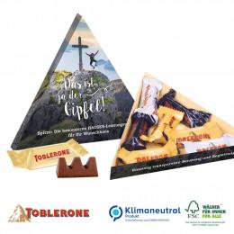 Toblerone Minis in Präsentbox Dreieck