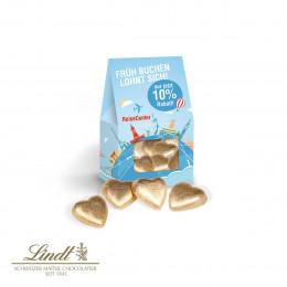 Businesspräsent Selection Mini Lindt Schokoladenherzen