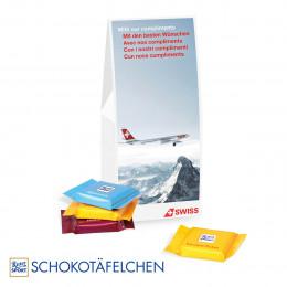 Businesspräsent Selection Ritter Sport Schokotäfelchen