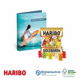 Werbe-Klappkarte mit süßer Füllung Haribo Goldbären