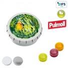 Super-Mini-Drück-mich-Dose mit Pulmoll Pastillen