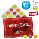 Kleinster Event-Kalender der Welt mit Pulmoll Pastillen