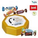 8-Eck-Geschenkbox mit Celebrations®