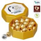 8-Eck-Geschenkbox mit Kinnerton Pralinés