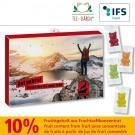 Premium Tee-Bären®-Adventskalender Business