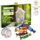 Premium-Präsent-Adventskalender Eco Business mit merci Petits
