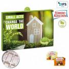 Premium-Präsent-Adventskalender Eco Business mit Ferrero Küsschen