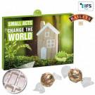 Premium-Präsent-Adventskalender Eco Business mit Baileys® Pralinen