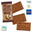 Midi Schokoladen-Täfelchen X-Mas