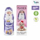 Milka Weihnachtsmann in Geschenkbox
