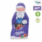 Milka Weihnachtsmanntafel neutral