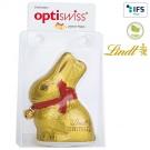 Lindt & Sprüngli Osterhase mit Werbekärtchen