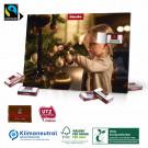 Tisch-Adventskalender mit Fairtrade-Kakao Klimaneutral, FSC®-zertifiziert