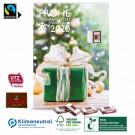 Wand-Adventskalender mit Fairtrade-Kakao Klimaneutral, FSC®-zertifiziert