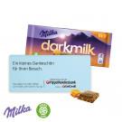 Schokoladentafel 85 g dunkle Alpenmilch Milka
