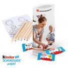 Kinder-Schokolade Mini mit Malset