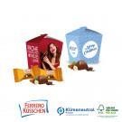Präsentverpackung Style mit Ferrero Küsschen, 2er, Klimaneutral, FSC®-zertifiziert