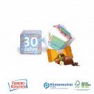 Werbe-Würfel mit FERRERO Küsschen, 1er, Klimaneutral, FSC®