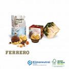 Werbe-Würfel mit Ferrero Rocher 1er, Klimaneutral, FSC®-zertifiziert