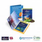 Premium-Tee in der Werbe-Klappkarte, Klimaneutral, FSC®