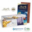 Mailing-Grußkarte mit Lindt Schokolade, Klimaneutral, FSC®-zertifiziert