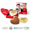 Lindt Herz in Präsentverpackung, 20 g, Klimaneutral, FSC®