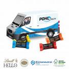 3D Präsent Transporter Lindt Hello Mini Stick