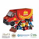 3D Präsent Transporter Lindt Hello Mini Stick Klimaneutral, FSC®