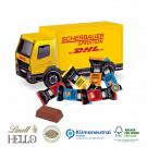3D Präsent LKW Lindt Hello Mini Stick Klimaneutral, FSC®