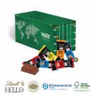 3D Präsent Container Lindt Hello Klimaneutral, FSC®