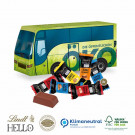 3D Präsent Bus Lindt Hello Mini Stick Klimaneutral, FSC®