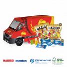 3D Präsent Transporter Haribo + Mentos, Klimaneutral, FSC®