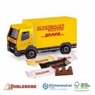 3D Präsent LKW Toblerone, Klimaneutral, FSC®