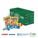 3D Präsent Container Haribo + Mentos, Klimaneutral, FSC®
