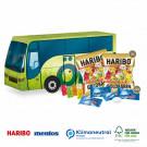 3D Präsent Bus Haribo + Mentos, Klimaneutral, FSC®