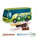3D Präsent Bus Toblerone, Klimaneutral, FSC®