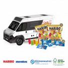 3D Präsent Camper Haribo Goldbären+Mentos Klimaneutral, FSC®