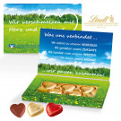 Schokoherzen in Präsentbox Business Lindt
