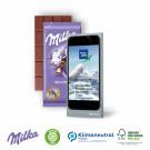 Schokoladentafel Milka 40 g, Klimaneutral, FSC®