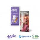 Schokoladentafel von Milka, 40 g, Klimaneutral, FSC®-zertifiziert