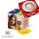 Ritter SPORTSchokowürfel-Werbebox