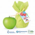 Premium Werbe-Apfel mit Werbekärtchen