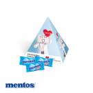Werbe-Pyramide mit Mentos